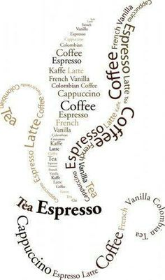 Coffee wall decal, maybe?