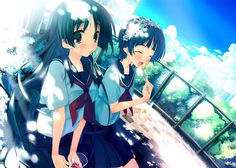 It's Fan Art Friday! Today's pair was a suggestion from justcallmekouhai, Saten x Uiharu from Raildex! These two are often really funny together and were some of my favorite characters. I tried to get pictures that I thought captured their personalities. As always please don't remove the source and if you have a pixiv feel free to hop on over there and rate/bookmark the ones you like! It helps the artists out more than you realize.