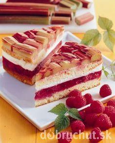 Torta letné pokušenie Czech Recipes, Russian Recipes, Ethnic Recipes, Summer Treats, Pavlova, How Sweet Eats, Sweet Desserts, Cheesecake Recipes, Food And Drink