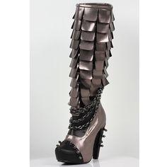 [HADES] CAYMENE / PEWTER - corset, gothic shop {{* EpicureanGarden ... corset *}}