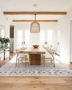 Love The Simplicity U0026 Organic Elements Of This Dining Room! Beautiful! Not  Sure Who