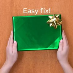 Diy Crafts Hacks, Diy Crafts For Gifts, Diy Home Crafts, Cool Paper Crafts, Paper Crafts Origami, Creative Gift Wrapping, Wrapping Gifts, Japanese Gift Wrapping, Wrap Gifts