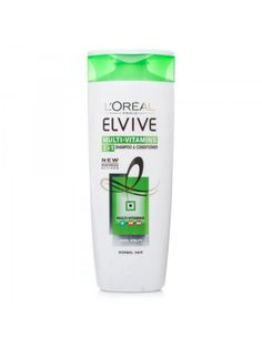 L'Oreal Elvive Mutli-Vitamins 2-In-1, contains the most important Vitamins pro-B5, PP and E, the formula and the conditioner make healthy and shiny hair.
