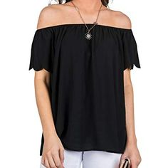 Women's Sexy Off Shoulder Short Sleeve Ruffle Tunic Tops Loose Fit Casual Tunic Tops Loose Shirt Off Shoulder Blouse, Off The Shoulder, Loose Shirts, Summer Tops, Sexy Women, Swimsuits, Tunic Tops, Promotion Code, Casual