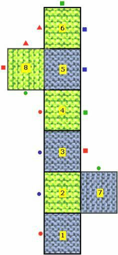 8 Square Socks Easy and Fast [Free Crochet Pattern] - Hastag Stalk Easy Knitting, Loom Knitting, Knitting Socks, Knitting Patterns Free, Crochet Patterns, Free Pattern, Knitted Slippers, Crochet Slippers, Slipper Socks