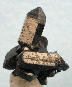 Gaudefroyite. Wessels Mine, Hotazel, Kalahari Manganfelder, Provinz Nordkap, Südafrika Taille=18 x 13 x 12 mm Copyright Rob Lavinsky