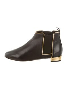 Abel Muñoz Leather Round-Toe Ankle Boots w/ Tags