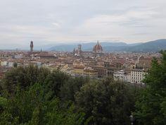 Le panorama de Florence depuis l´esplanade Michel-Ange Florence, Blog Voyage, Toscana, Monument Valley, Paris Skyline, Grand Canyon, Panorama, Inspiration, Bella