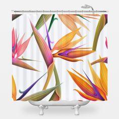 1000 Ideas About Bird Shower Curtain On Pinterest Shower Curtains Fun Shower Curtains And