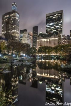 New York City Feelings - The Pond at Central Park  by @kpstatz...