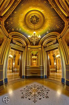 Salon du Soleil, Opera Garnier, Paris, France