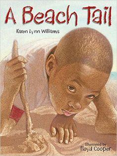 A Beach Tail - EyeSeeMe African American Children's Bookstore