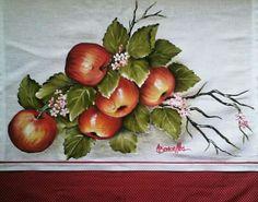 Pintura em tecido pano de copa