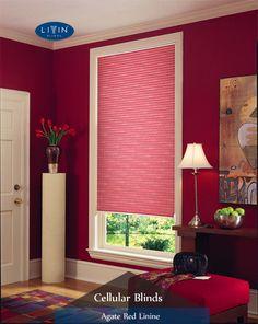 Honeycomb Blinds, Cellular Blinds, Shades Of Burgundy, Blinds For Windows, Fifty Shades, Room Decor, Curtains, Interior Design, Elegant