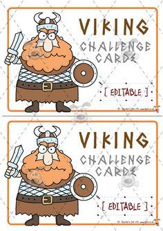 Teacher's Pet Activities & Games » Editable Viking Word Problem Challenges » EYFS, KS1, KS2 classroom activity and game resources » A Sparklebox alternative