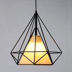 Pagoda Metal Framework Sand Beige Shaded Pendant - Pendant Lights - Ceiling Lights - Lighting