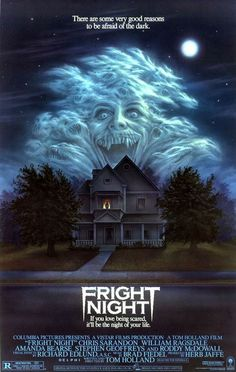 Fright Night. One of those I haven't seen but love the poster.