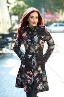 Palton LaDonna Flourished Spirit Black (LaDonna) Dresses With Sleeves, Long Sleeve, Spirit, Black, Fashion, Moda, Sleeve Dresses, Long Dress Patterns, Black People