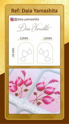 One Stroke, Nails Inspiration, Patches, Nail Art, Templates, Zen, Easy Nails, White Nail Beds, Card Templates