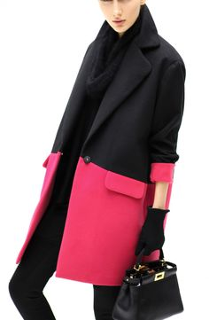 Cocobella - Audrey Coat in Rose
