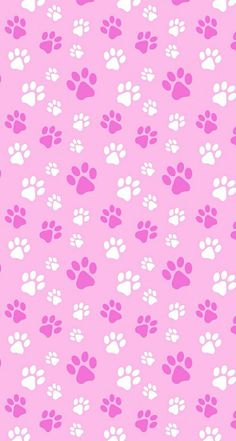 Pink Paw Print Clip Art Vector Clip Art Online Royalty