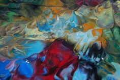 Big Blob Of Paint – Sunday's Abstract Daily Jigsaw Puzzle