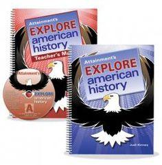 Explore American History Books #spedcurriculum #spedhistory