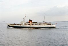 The Rise and Fall of Sealink Ferries by Ferry Crossings. Sealink Ferry from Isle of Wight to Portsmouth, 1970s