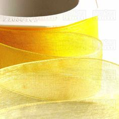 Our bright lemon organza ribbon is available in four different widths for your wedding invitations and wedding favours. Make Your Own Wedding Invitations, Paper Napkins For Decoupage, Burlap Lace, Organza Ribbon, Happy Birthday Cards, Headbands, Card Making, Gift Wrapping, Special Delivery