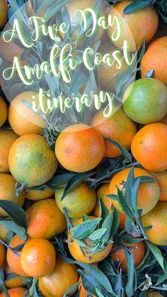 How to Spend Five Days on the Amalfi Coast   A Five Day Amalfi Itinerary | Amalfi Coast Guide | Guide to Amalfi Coast | Amalfi Coast, Italy | Sorrento, Italy | Positano, Italy | Ravello, Italy | Amalfi, Italy | Capri, Italy | #AmalfiCoast #Positano #Italy #ItalyItineraries