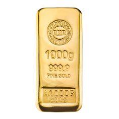 1 kg Gold Bar Cast, now available on royalmintbullion.com