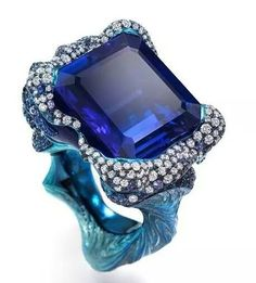 Wallace Chan Sapphire Ring