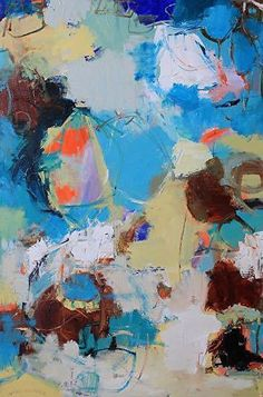 "Abstract Artists International: Abstract Expressionism Painting ""Song of the Wind"" by Abstract Artist Nijole Rasmussen"