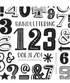 Handlettering  123 doe je zo! Bullet Art, Reiki Symbols, Bullet Journal, Letters, Creative, Quotes, Davos, Fonts, Products