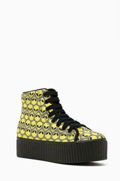 Hiya Platform Sneaker - Alien