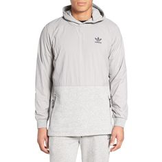 1a7a9bc50178 Men s Adidas Originals Sport Luxe Mix Hoodie (€76) ❤ liked on Polyvore  featuring