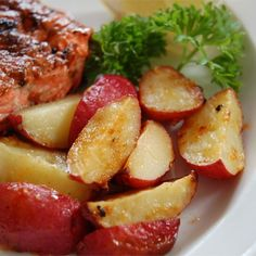 """Garlic Red Potatoes   """"Really really good. I am a total beginner cook and they turned out so yummy."""""""