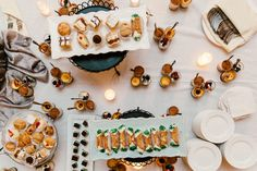 Italian dessert bar 24 Unconventional Wedding Foods Your Guests Will Obsess Over