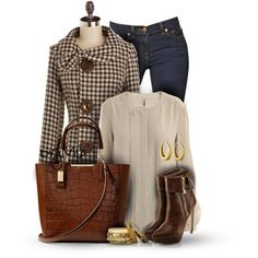 A fashion look from October 2014 featuring IRO blouses, J Brand jeans and Coach tote bags. Browse and shop related looks.