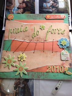 """Scrapbook """"Praia do Forte"""""""