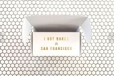 This Mr Holmes Bakehouse Package Design is Perfectly San Francisco #minimalist trendhunter.com