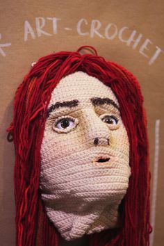 "Have fallen totally in love with this ""Self-Portrait in Crochet"" by The Sun and the Turtle"