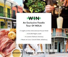 Win a foodie tour of New Orleans! Enter now: http://r29.co/1zIKJsJ