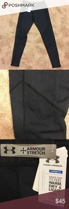 UA Performance Black UA thermals, size L NWT Under Armour Pants Track Pants & Joggers