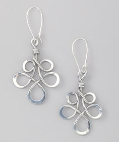 American-made, small company using recycled materials. On sale. I thought you'd like this line. Silver Freedom Earrings by aluminations on #zulily today!