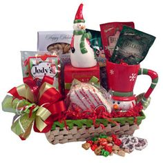 Frosty's Favorites Gift Basket