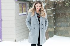 The Coat You Need This Season: The Zara Grey Tomboy Coat | https://www.yourbeauty.ie/2018/03/the-coat-you-need-this-season-the-zara-grey-tomboy-coat/