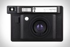 Sometimes bigger really is better. The Lomo'Instant Wide Camera combines the convenience of instant prints with a size that's suitable for more than just passing among friends. Using a fully programmatic shutter, the camera lets you still shoot automatically when...