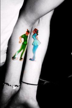 fall in love tattoo. cute tattoo.