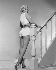 Marilyn Monroe in a promo photo for The Seven Year Itch, taken in 1954 <3